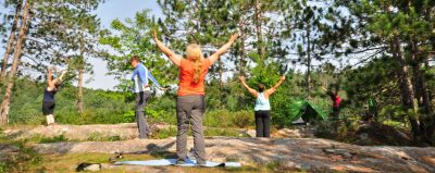 WOMEN'S WILDERNESS CANOE & YOGA RETREAT @ Algonquin Park