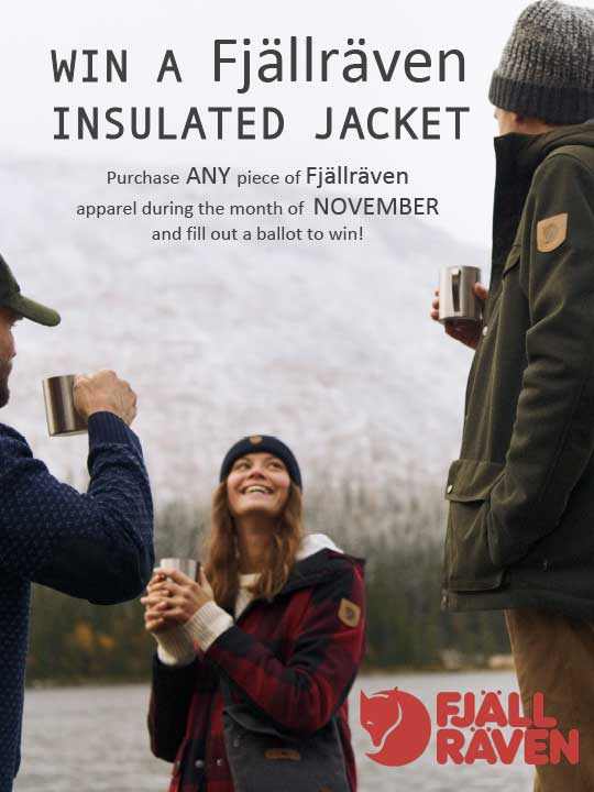 Fjallraven jacket contest