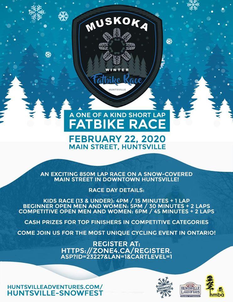 Muskoka Fat Bike Race
