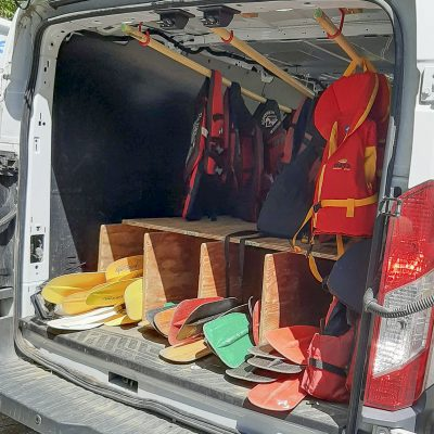 Rental PFD's and Paddles