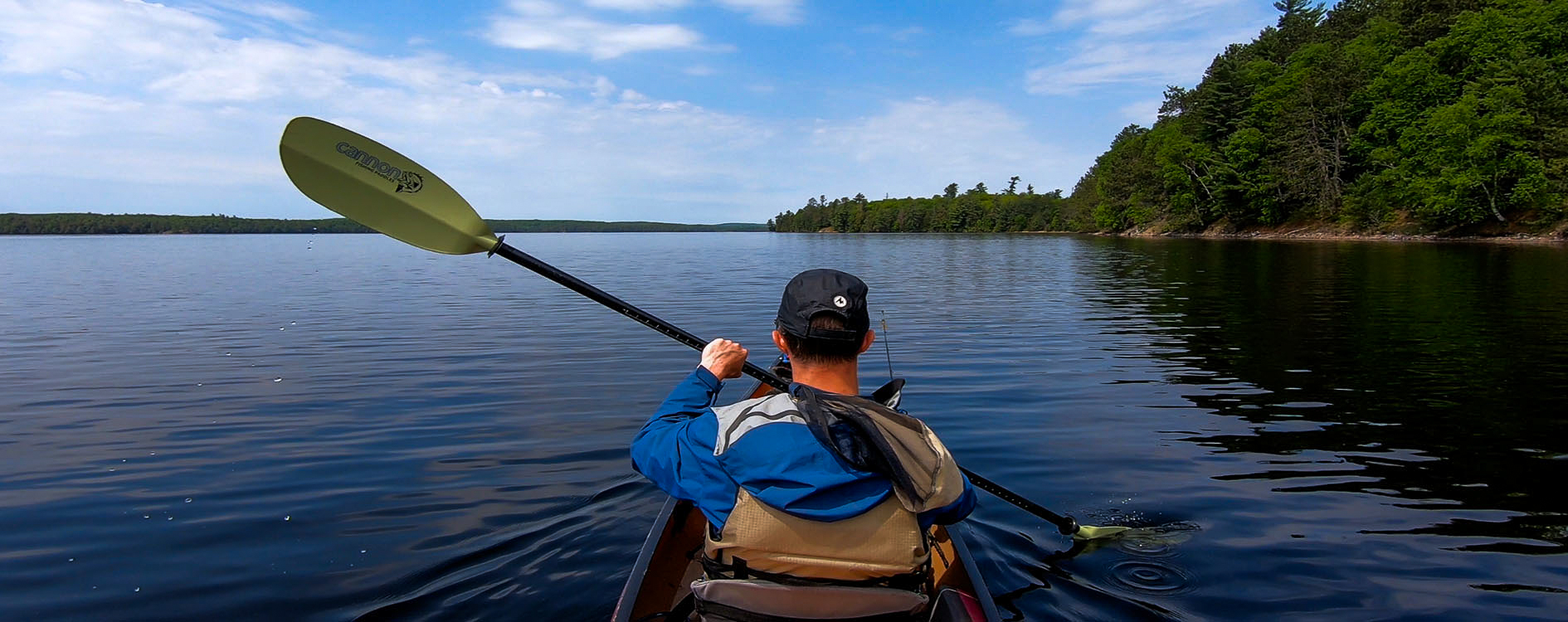 Solo Paddling Lake Opeongo
