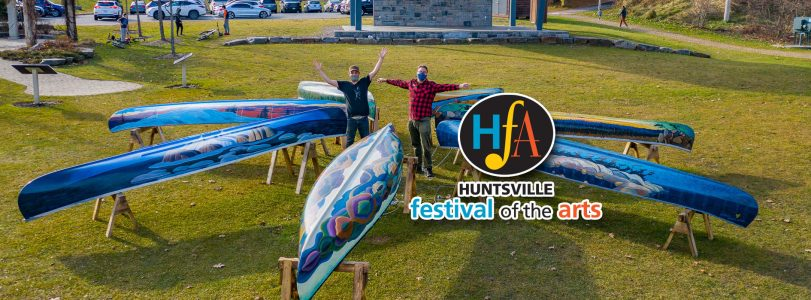 Huntsville Festival of the Arts Group of Seven Canoe Project 2020