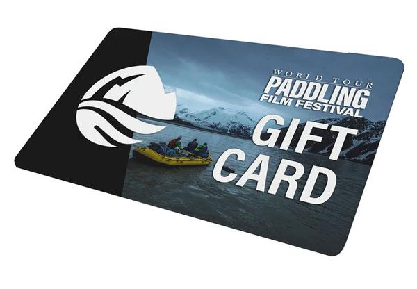 Paddling Film Festival Gift Card