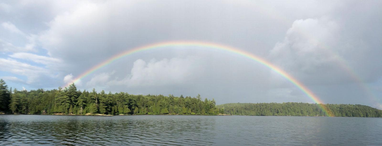 doubel rainbow