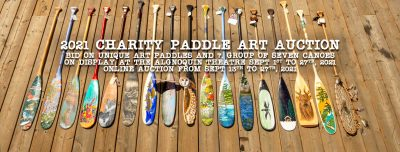 2021 Paddle Art Auction - Special Saturday Viewing @ Algonquin Theatre