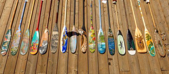 Paddle Art Auction Notice